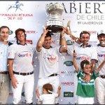 VERFRUT campeón del Abierto de Chile 2016