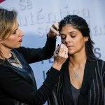 Clase de maquillaje con Mirada FLASH Chile
