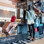 SAMSONITE se presenta con una exclusiva instalación en el salón VIP LATAM del aeropuerto de Santiago