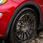 MICHELIN y GM traen Uptis, el neumático sin aire para turismo