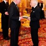 Ralph Lauren recibe el título de Caballero Honorario en Londres