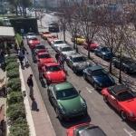 CLUB PORSCHE y MOSSO: paseo de autos clásicos
