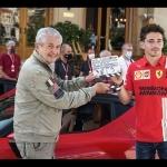 """FERRARI y su remake del cortometraje""""C'etait un rendez-vous"""" en Mónaco, con Charles Leclerc piloteando un SF90 Stradale"""